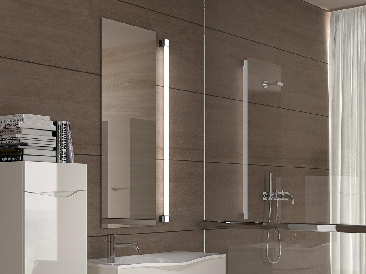 Diona spegel 40x100cm med Lumina belysning
