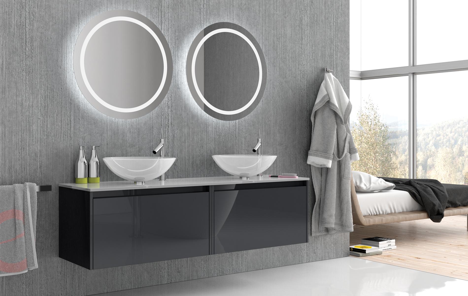 OMEGA – Möbel serie i olika NCS-kulörer och olika mått.
