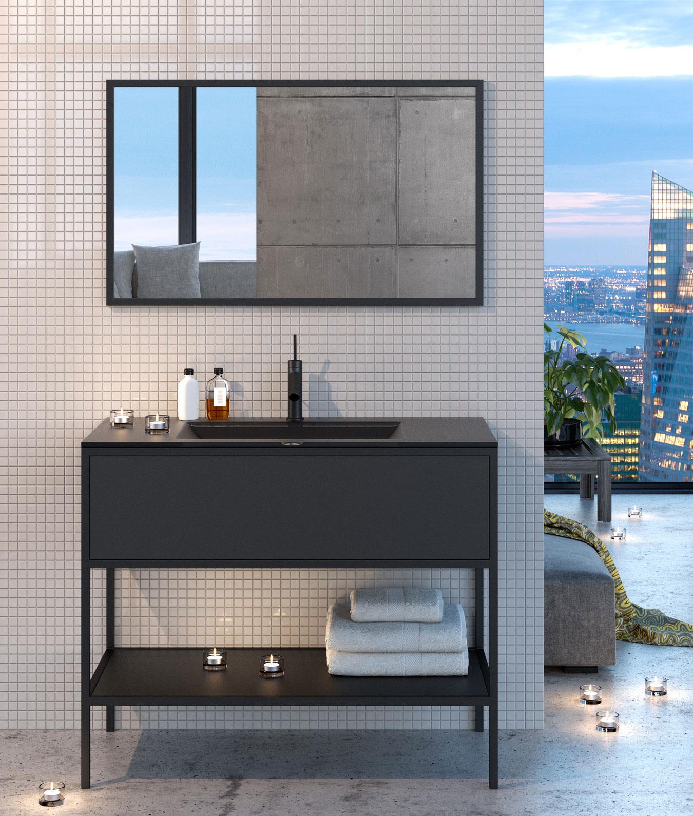 RIO – Möbel serie i olika NCS-kulörer.